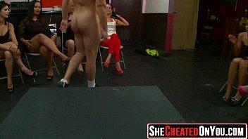 07 desperate cfnm club fuck-a-thon girls fellating meatpipe 26