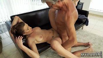 feeding daddy lovemaking with her boyduddyacute_s dad after.