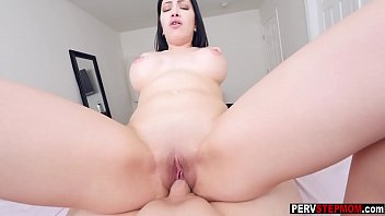latina cougar step-mother penalize pokes a stepsons large smash-stick
