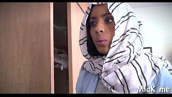 two kinky arab whores take turns to blow.