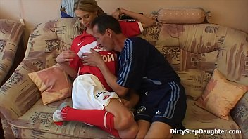 sporty parent and stepdaughter entertainment romp