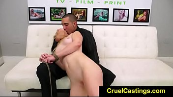 fetishnetwork aubrey gold suffers dominance & subordination casting casting