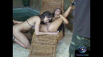 ultra-cute lesbos having joy on their g/g hump sequences