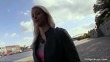 public oral delectation with jaw-dropping inexperienced czech teenie.