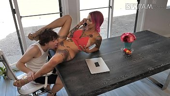 anna bell peaks step-mom screws his stepson total.