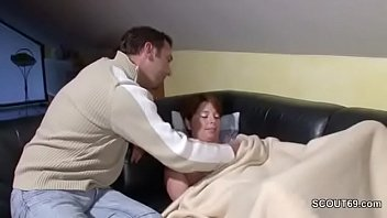 german step-sonny lure step-mother to poke when home alone