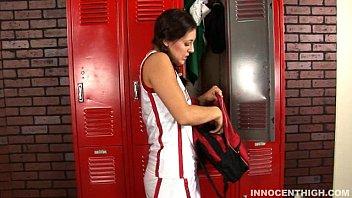 kinky dark-haired humped in the lockerroom