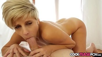 stunner luvs inhaling point of sight manstick in close-up