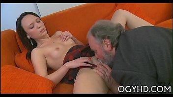 senior banger wedges youthful cock-squashing aperture