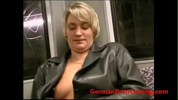 roleplay with a german cougar in public transportation.