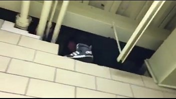 grubby wall gets mounted in lockerroom
