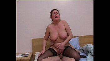 russian mature bella with youthful boy