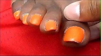 keshia williams orange toes