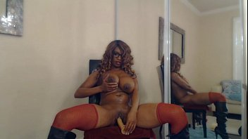 buxom stripper nyla storm bounces her yam-sized donk.