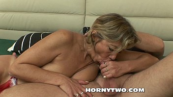 ash-blonde ginormous mature with fat globes humped by.