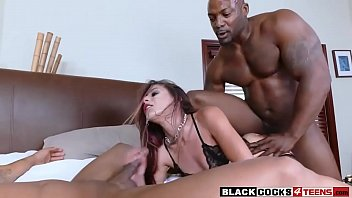 whorey nubile liv penetrated by two.