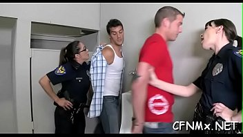 insane domme gives cook stroking