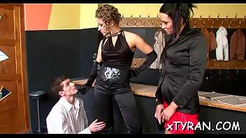 spunky mistress-slut predominates chap