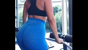 sport honey workout in hump spandex