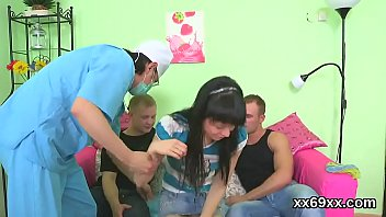 doctor assists with hymen corporal and deflowering of.