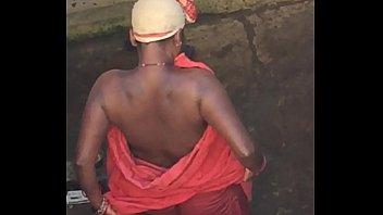 desi village wild bhabhi udders caught by covert.