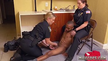 cougar interracial hotwife ebony masculine squatting in home.