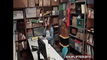 horny shoplifting nymphomaniac backroom supermarket covert-webcam.
