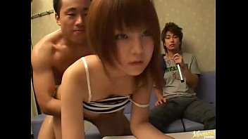 japanese av model coerced to deep-mouth