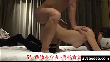 pounding asian gf with stellar joy bags and.