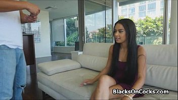 well-lubed black teenager ripped up at.