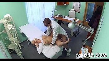 faux clinic hosts a terrific drill