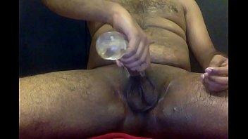 humungous popshot - vulcan masturbator - milking off.