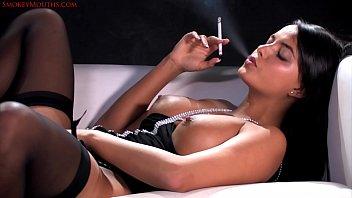 sasha flog - all milky 120039_s smoking getting off