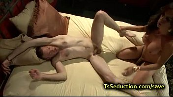 enormous titties she-masculine smashes cuffed man