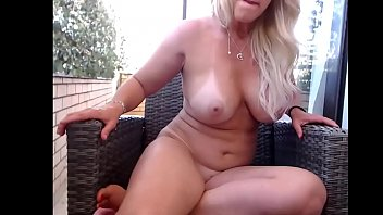 torrid blondie cougar outdoor getting off