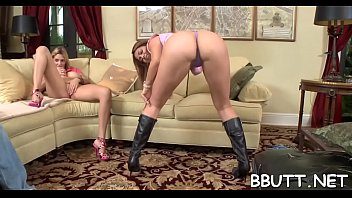 breath-taking cockslut with supreme lubricated culo gets her.