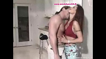 thick-titted supah hot latina duo romping in the kitchen