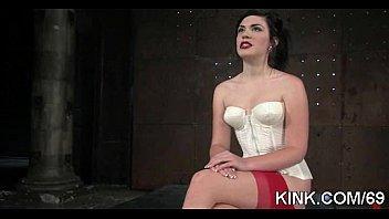 phat knocker lady in limit bondage.