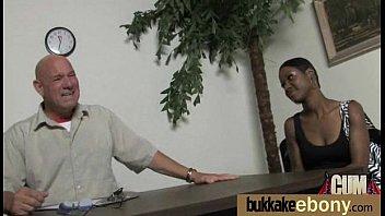 insane ebony wifey group nailed by milky mates nine
