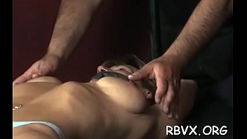 breasty doll gets her bumpers thonged cock-wringing as.