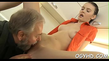 smallish youthfull vixen rails elderly firm-on