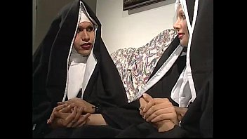 two nuns are comforting a stepsister but she.