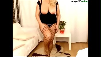ample bosoms bigass fishnet cougar taunt witness more.
