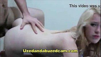 ash-blonde nubile gets screwed rock-hard by her beau.