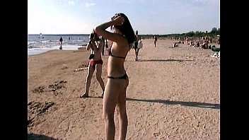 nice teenagers nude their bods at a naturist beach