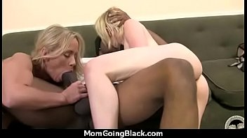 nasty mummy get nailed by ebony.