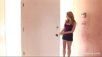 crimson-hot inexperienced girly get slammed intense in vag.