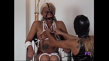 fetisch-conceptcom - restrict bondage encounter for 2 damsels.
