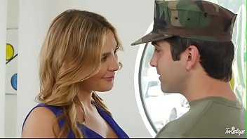 light-haired inna plumbed by army boy more vid.