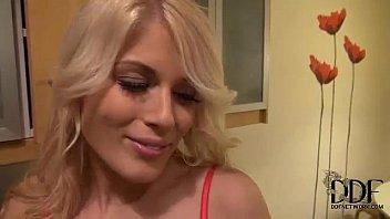 fantastic silver-blonde realtor gives a supah-penetrating-hot deep mouth.